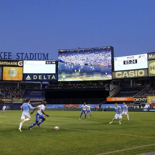 Yankee Stadium joins the growing list of digital stadiums