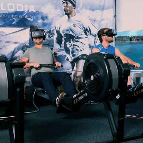 Virtual Reality work-outs have arrived, and they're awesome
