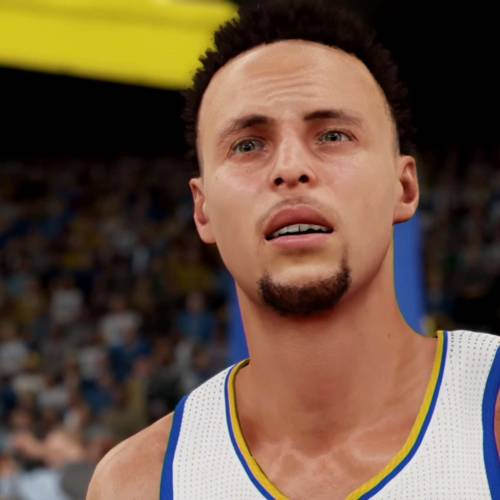 Steph Curry's stats on NBA 2K to be maxed out