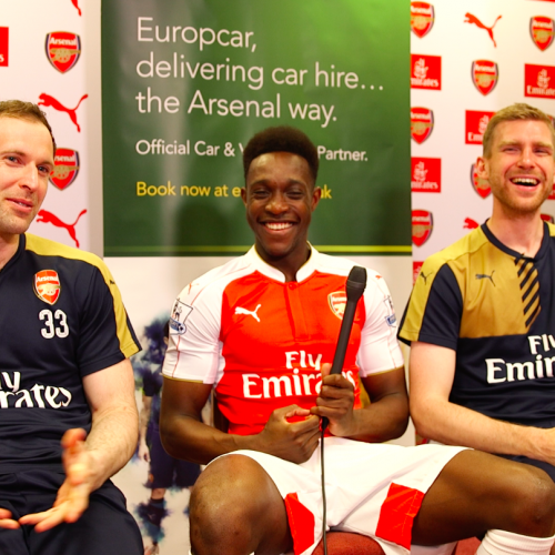 Europcar takes Arsenal fans behind the scenes