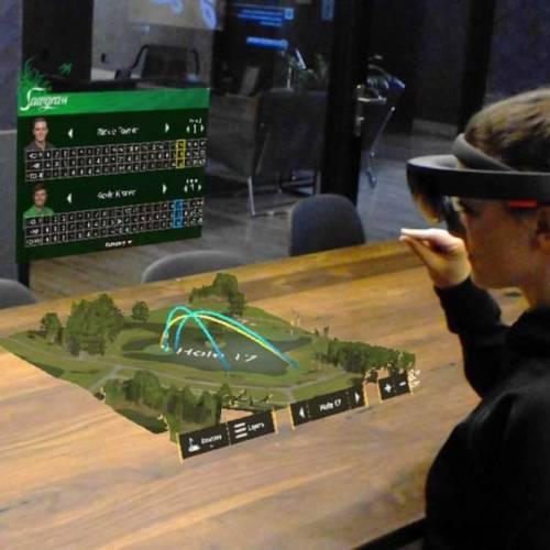 PGA Tour demos Microsoft HoloLens to deliver AR to golf