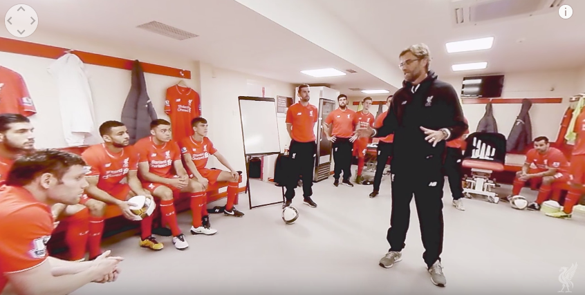 Standard Chartered release stunning virtual reality tour of Anfield