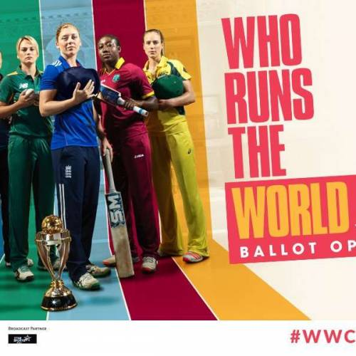Who Runs The World: ICC & HSE Cake launch Women's Cricket World Cup campaign