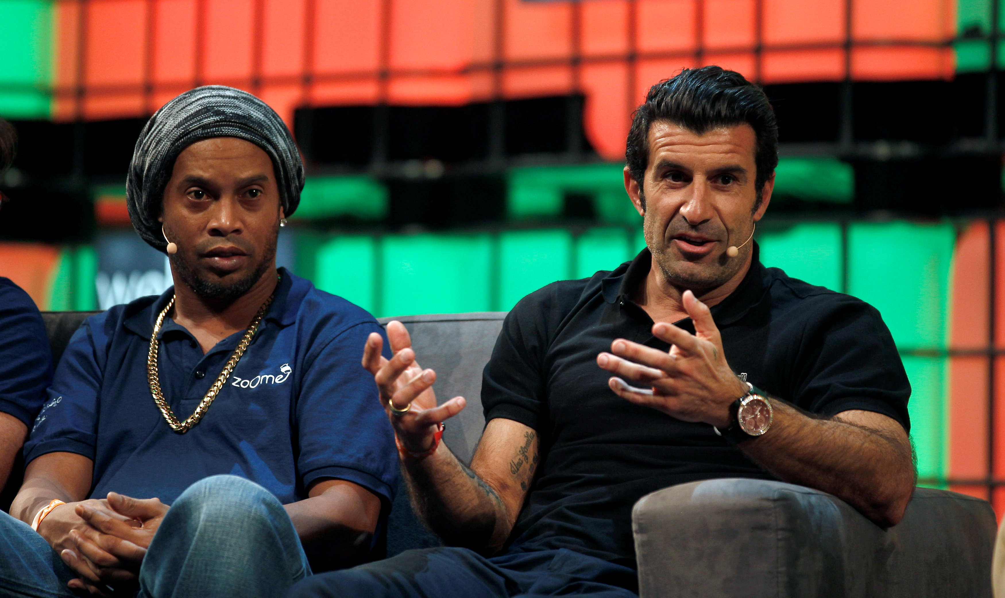 Luis Figo s Dream Football launch app to give young footballers a