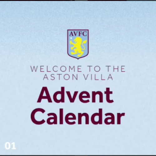 Aston Villa's Instagram spreads festive cheer to its fans
