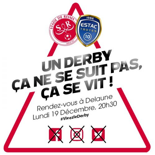 Stade de Reims closes down all its social networks for the Champagne derby