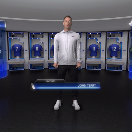 John Terry launches VR Football Academy