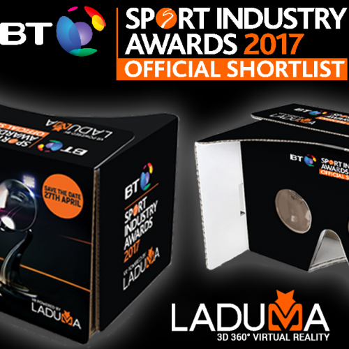 Laduma creates ground-breaking VR to reveal BT Sport Industry Awards official shortlist
