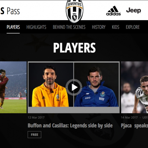 Juventus creates new fan app with access to highlights and bespoke content