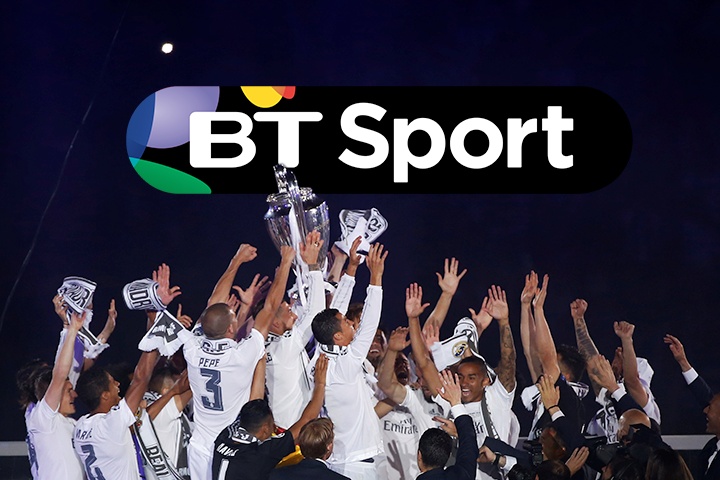 BT Sport secure exclusive Champions League football rights