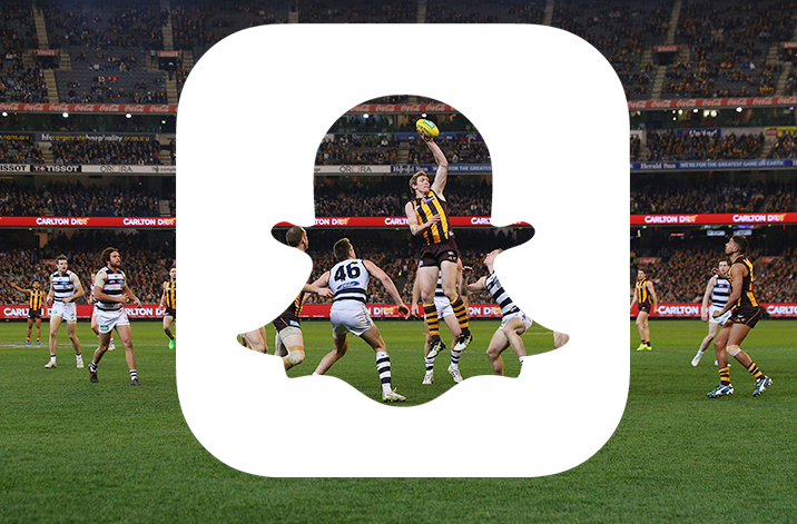 Snapchat secures multiyear agreement with Australian Football League