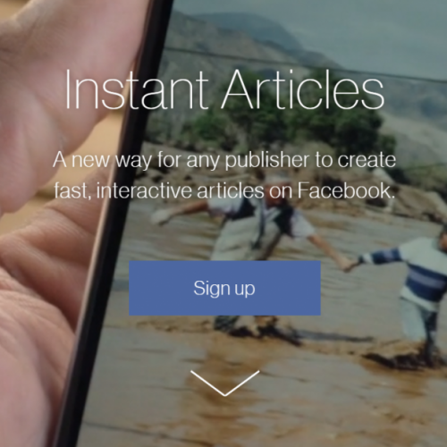 Why aren't more sports teams using Facebook instant articles?
