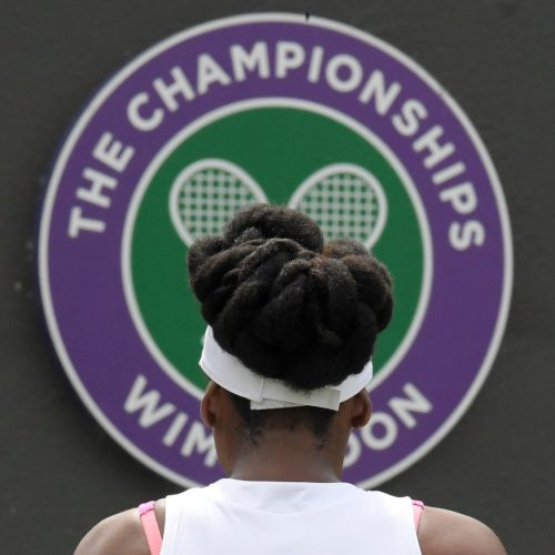 Wimbledon get fans ready for the Championships by reporting on the French Open