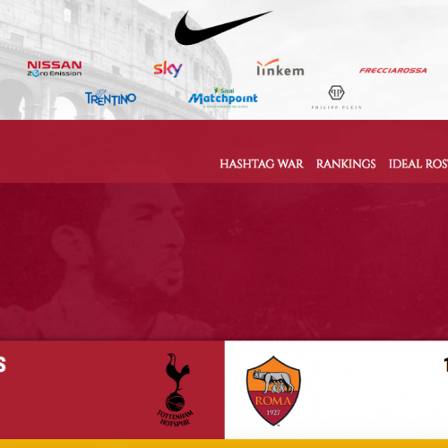 AS Roma trial new Twitter League