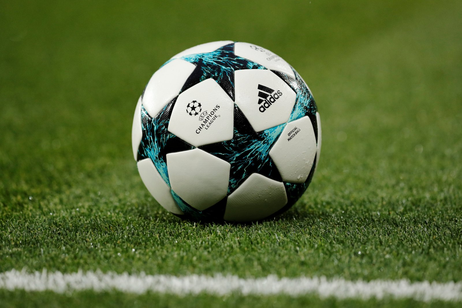 Champions League ball general view