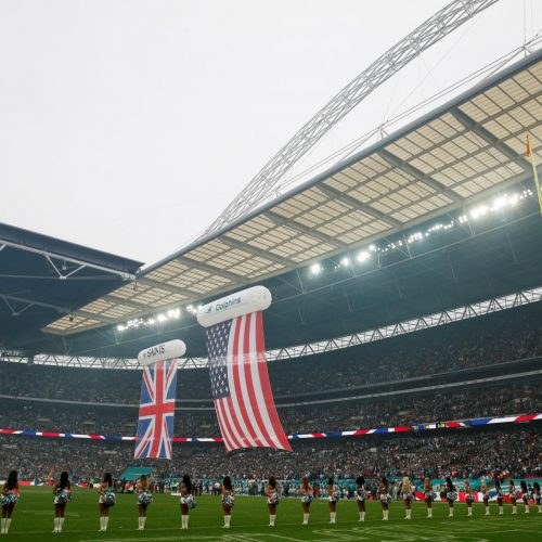 NFL UK has a big week on Twitter as stars come to town