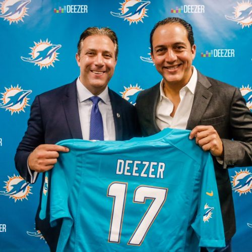 Miami Dolphins team up with Deezer to launch innovative partnership to excite fans