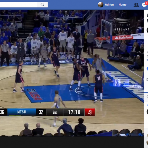 Facebook to live stream 47 college basketball games in the US