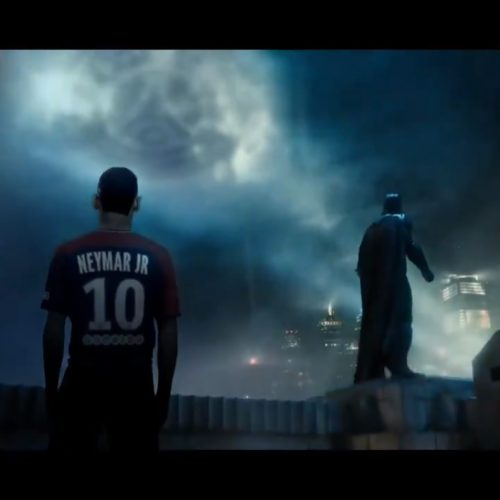 PSG team up with Justice League in a move reminsicent of one Man United made last year