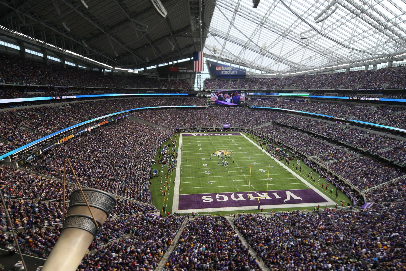 US Bank Stadium: Minnesota Vikings v Detroit Lions, NFL