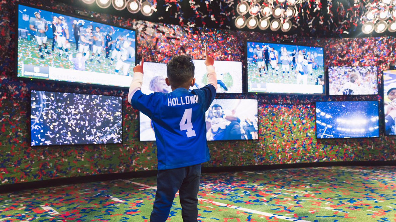 The NFL Experience in New York shows us how leagues are becoming  entertainment providers afdc958e573cb