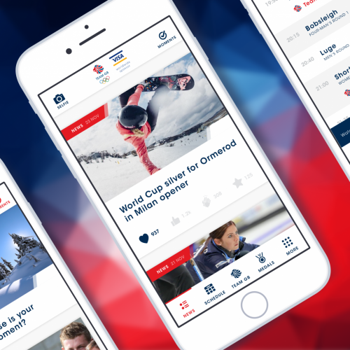 Team GB and VISA launch new fan app for PyeongChang Winter Games