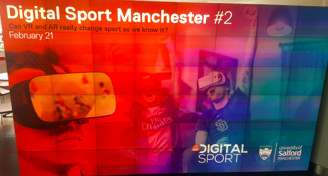 What we learned about VR and AR at Digital Sport Manchester #2