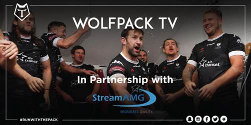 Toronto Wolfpack Launch Wolfpack TV