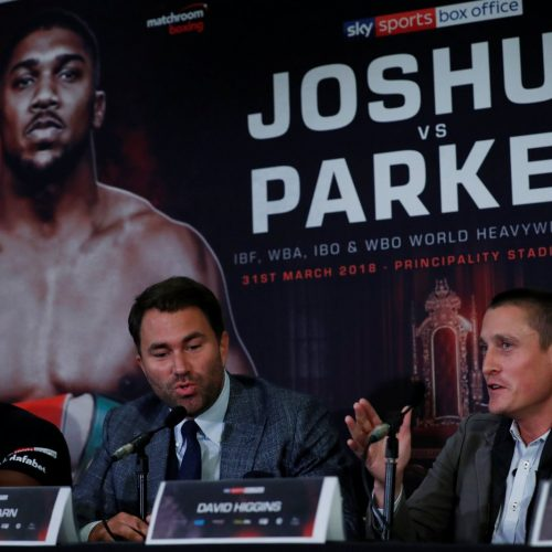 DAZN to show Joshua v Parker in another landmark live-streaming deal