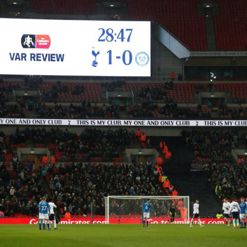 Does VAR in football represent one extra erosion of the stadium experience?