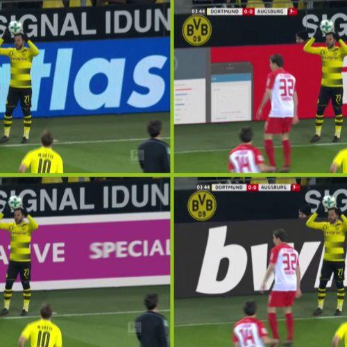 Bundesliga Approve Virtual Advertising LED Technology