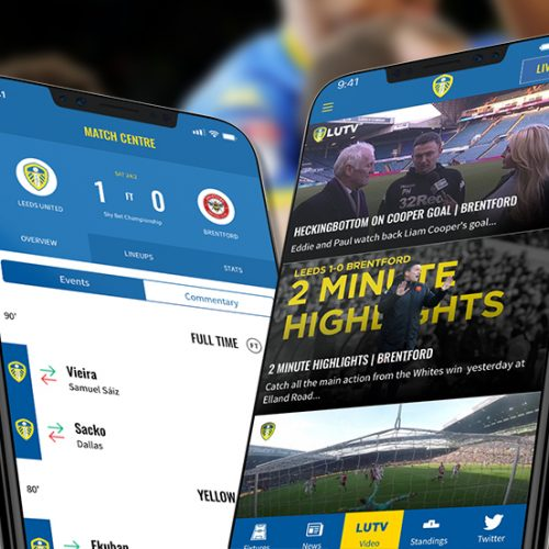 Leeds United FC focus on fan engagement with their official app with InCrowd