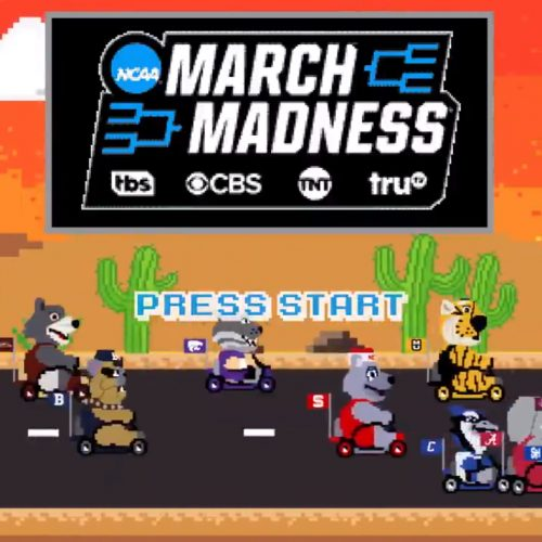 The digital race at this year's NCAA March Madness lives up to the name