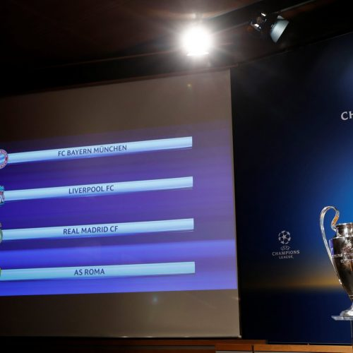 Champions League draw: How Liverpool, Real Madrid, Bayern Munich and Roma reacted on Twitter