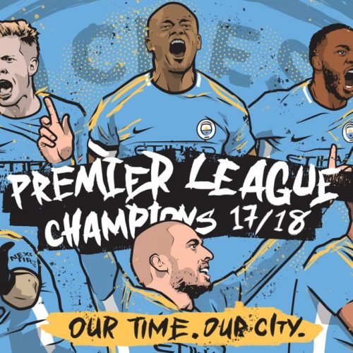 Manchester City's touching title celebrations show the good side of social media