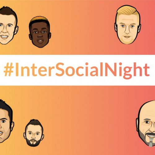 Inter Social Night causes a storm as players wear social media handles on their shirts