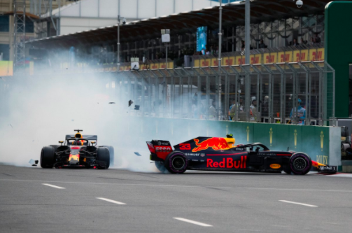 Formula One's embrace of social media helps perfectly capture the weekend's drama in Baku for all