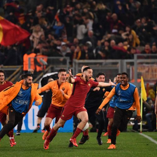 The numbers show just how much AS Roma dominated Twitter in April
