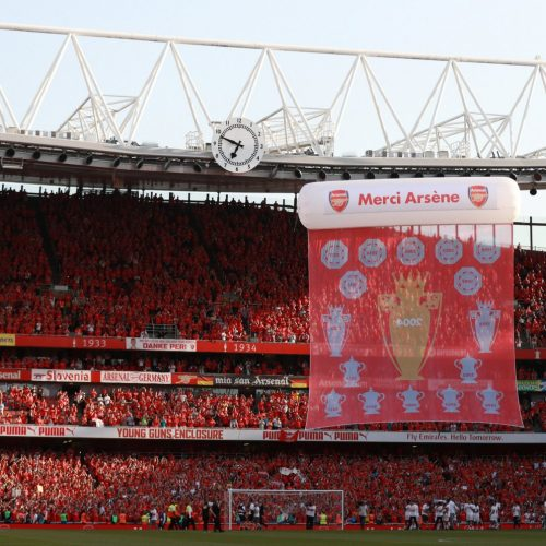 Arsenal manager's send off covered from every angle imaginable