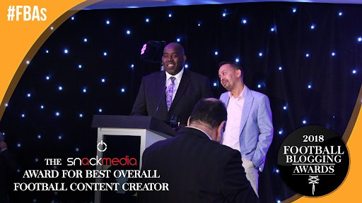 Podcast: 'Live' with the winners at the 2018 Football Blogging Awards