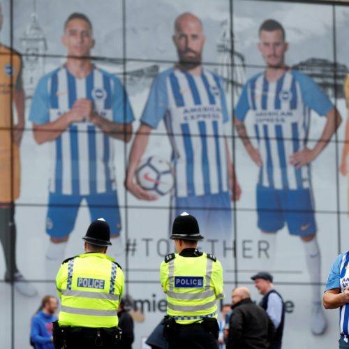 Brighton cover Premier League fixture announcements in bizarre fashion