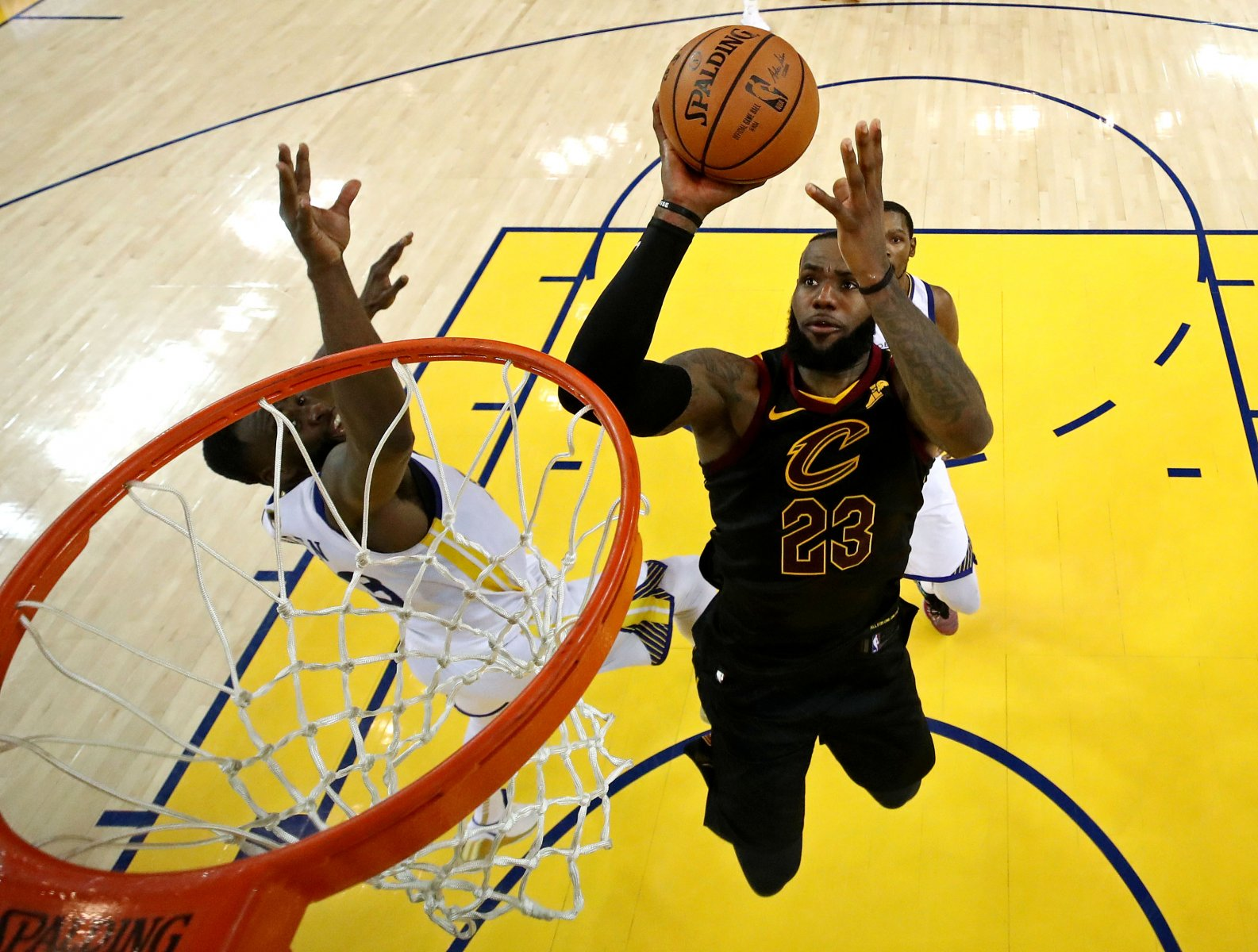 Lebron James v Golden State Warriors NBA Finals