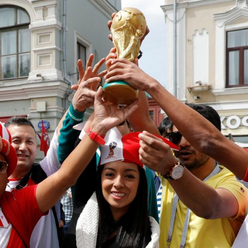 FIFA's fan-led reporters shows why this World Cup is different to the others