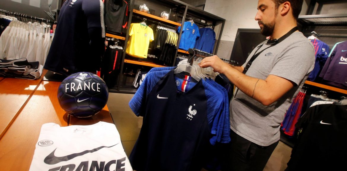 Whatever happens between France and Croatia, Nike will win the World Cup