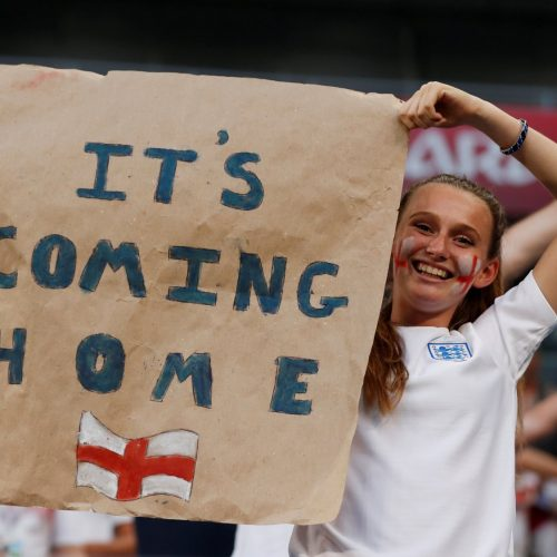It's Coming Home – the evolution of a movement as England reach the semis