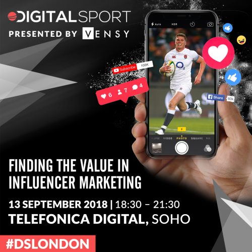 Digital Sport London: Finding the Value in Influencer Marketing