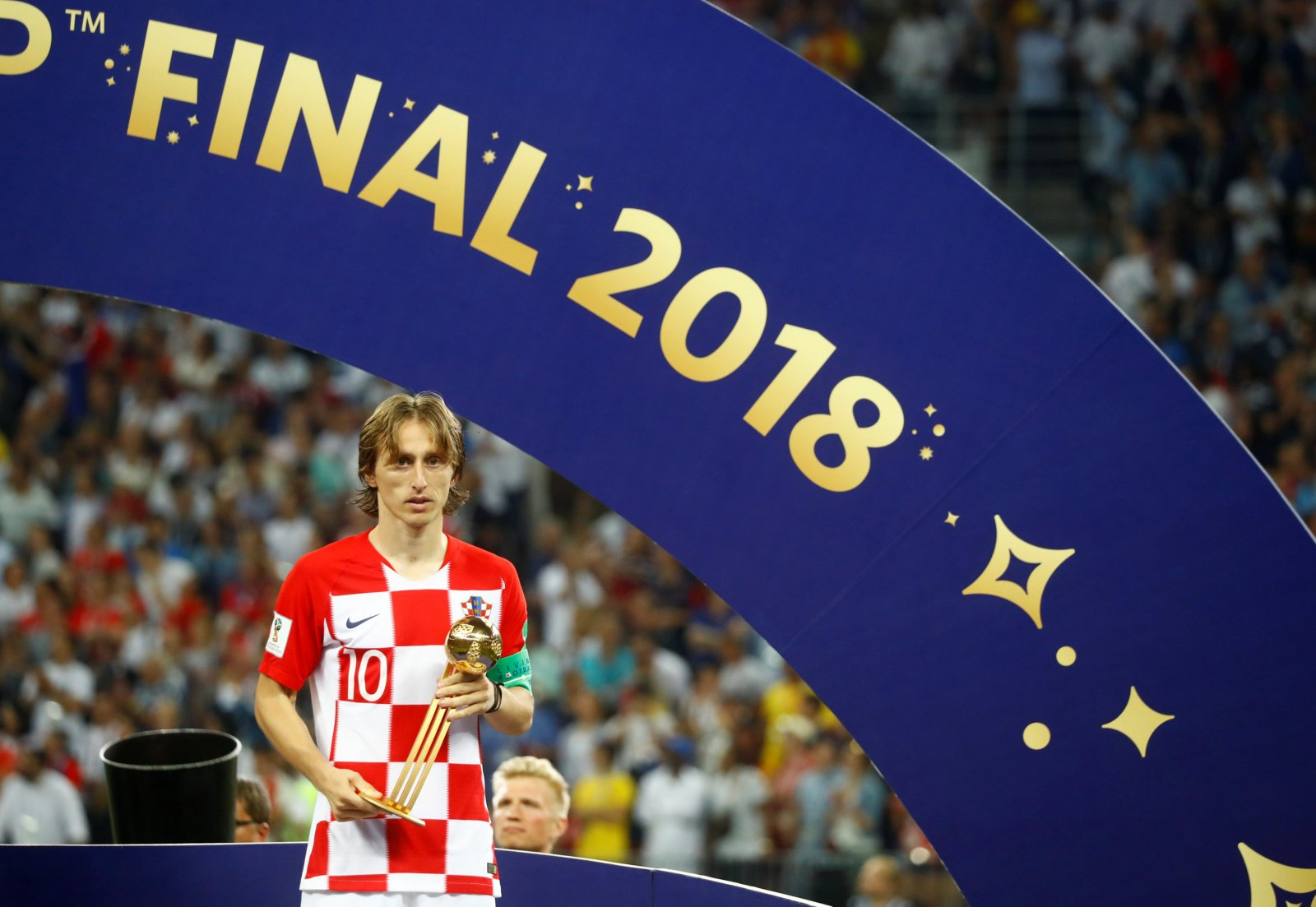 Luka Modric wins Golden Ball award at 2018 FIFA World Cup