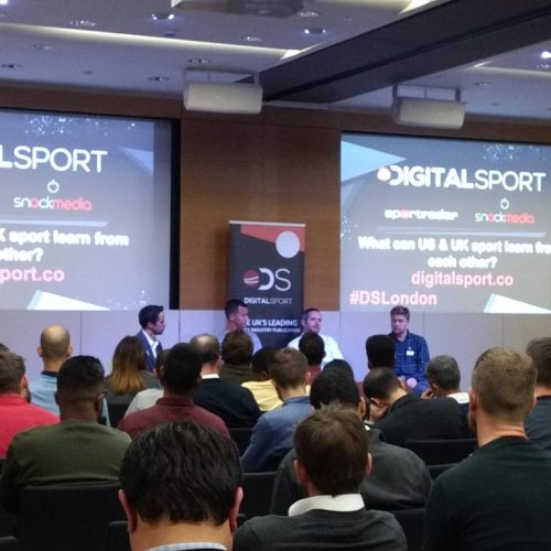 Five things we learned from Digital Sport London's October event