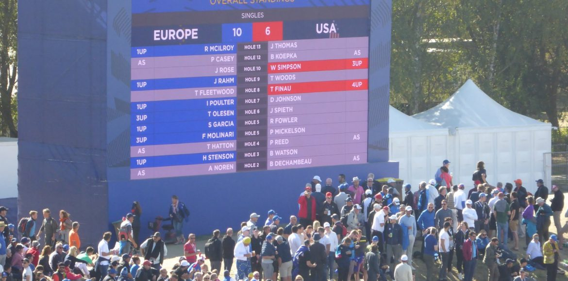 Eagles, Birdies… and Blue Whales: CT's Ryder Cup in Numbers