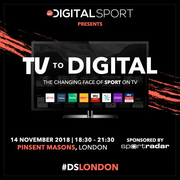 DSLondon – TV to Digital: The changing face of sport on TV